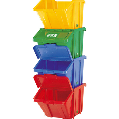 【文具通】SHUTER 樹德 HB-4068 資源回收箱/耐衝整理盒/收納箱 單入 405x645x348mm