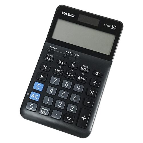 【文具通】CASIO 卡西歐 J-120F 商用型標準計算機 12位數