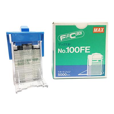 【文具通】MAX 美克司 NO.100FE 電動訂書針/釘書針 5000支入 5盒組