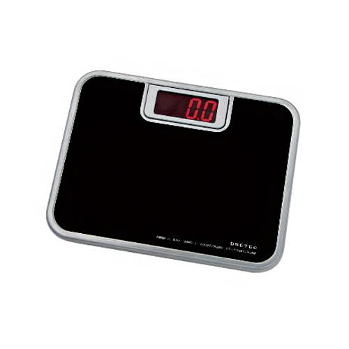 【文具通】日本 DRETEC 多利可 BS-116BK 電子體重計 (本產品非供交易使用)